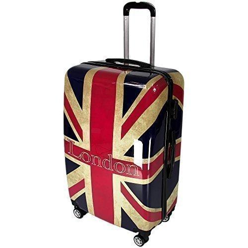 Koffer London Hartschalenkoffer Reisekoffer Groesse XL 28' Rapid Teck