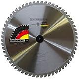 EDELSTAHL Kreissägeblatt 255x25,4 Z60 WZ Spezial-Sägeblatt für legierten Stahl wie V2A V4A NIROSTA stainless Steel. Für Dry-Cutter, Kappsägen, JEPSON, Kaltkreissägen, MAKITA, Metall Handkreissägen.