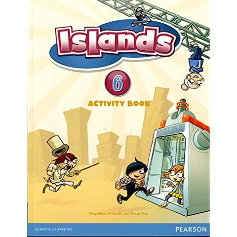 Islands Level 6 Activity Book Plus Pin Code