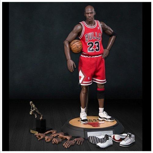 "Preisvergleich Produktbild Michael Jordan Real Masterpiece 13"" Action Figure #23 Road Version"