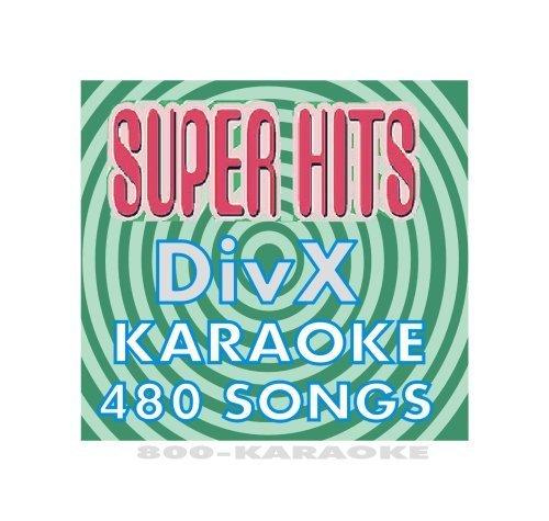Super Hits Karaoke 480 Song DiVX Disc MPEG4 Mpeg4 Audio