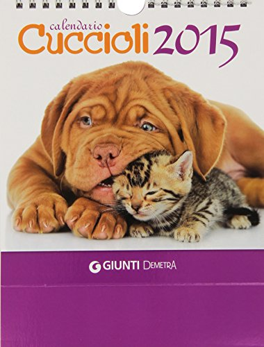 Cuccioli. Calendario desk 2015