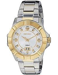 Seiko Lord Analog White Dial Men's Watch - SUR134P1