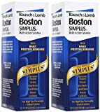 Bausch and Lomb Boston Simplus Multi Action Solution - 3.5 oz, 2 pack