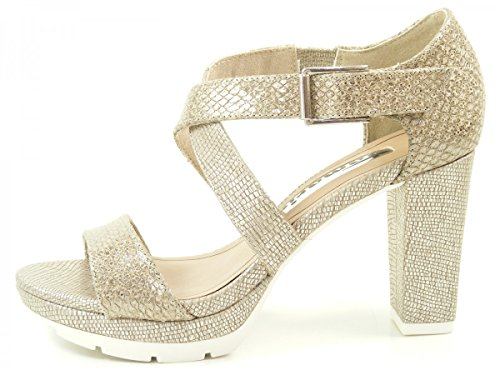 Tamaris 1-28041-36 sandales mode femme Silber
