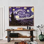 1000 pcs Jigsaw Puzzle by Van Gogh Starry Night Stress Relief Education Toy for Kids Adults