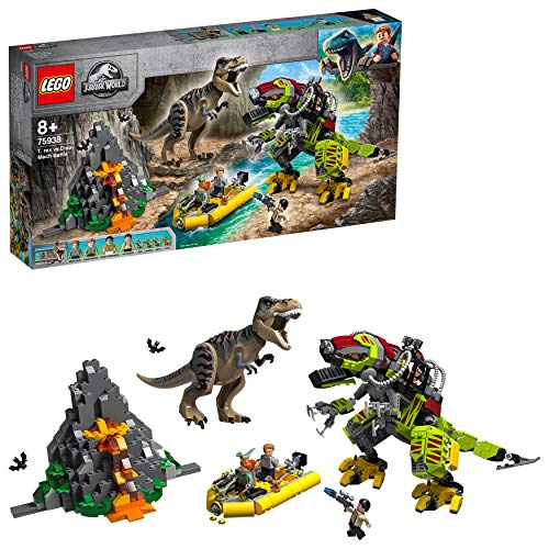 ic World T. Rex vs. Dino-Mech, Bauset ()