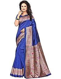Indianstore24 - Sari - para Mujer Azul Azul