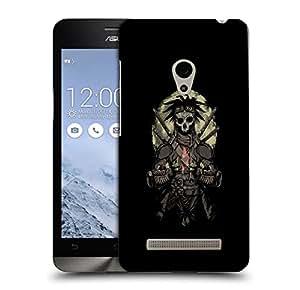 Snoogg Samurai Skull Designer Protective Back Case Cover For ASUS ZENFONE 5