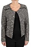 Street One Damen Kurze Bouclé Jacke Monia Black 38