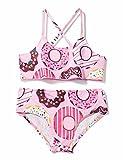 Chicolife Girls Bikini traje de baño Surf niñas para bebé niños playa deporte chalecos fondo natación 2 piezas desgaste 2-6T