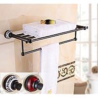 stile europeo asciugamano rack/Accessori bagno bronzo scuro/ vintage portasciugamani