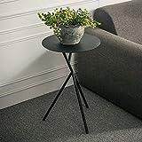 CWLLWC Rack, einfache Eisen Couchtisch Creative Balkon Objekt Blume Rack Master Design Multi-Color ich kleine runde Tabelle
