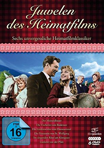 Juwelen des Heimatfilms - Sechs unvergessliche Heimatfilmklassiker [6 DVDs]