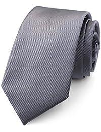 RAY±JAY Schmale Business Krawatte 7,5cm handgenäht