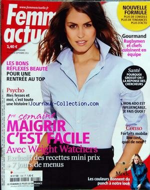 FEMME ACTUELLE [No 1406] du 05/09/2011