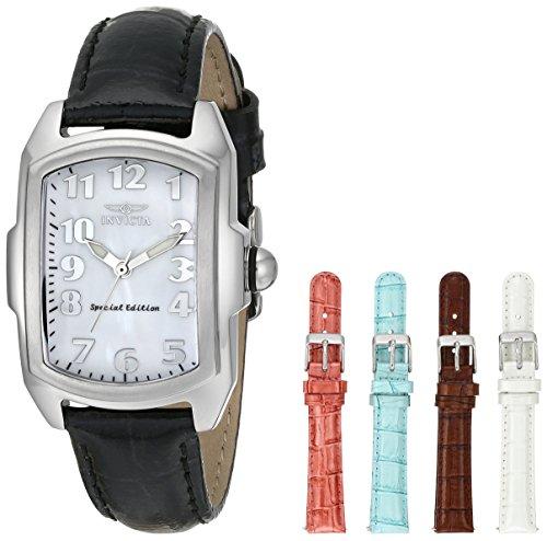invicta-lupah-5168-montre-affichage-analogique-bracelet-cuir-noir-cadran-nacre-filles