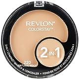 Revlon Colorstay 2-in-1 Compact Makeup & Concealer, Natural Beige, 0.38 Ounce by Revlon