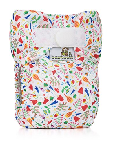 Bamboolik 98036 Taschenwindel Bleiben Sie trocken, mehrfarbig