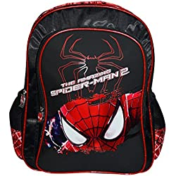 Spiderman 40 litres Black and Red Children's Backpack (St-Rs-2008-16)