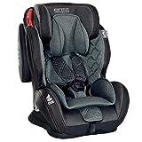 LCP Kids Autokindersitz 9-36 kg GT Comfort Gruppe 1 2 3 - schwarz