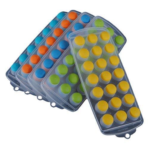 Gut Goal-Freeze Silikon Pralinenform Candy Jelly Cube Eiswürfelform Im Kugel-Design Form Bar Party (Verschiedene Farben)