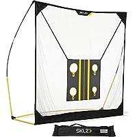 SKLZ Golfnetz Quickster Golf Net mit Zielen, gelb-schwarz, 1.80 m X 1.80 m