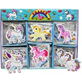 Asera 30 Pcs Unicorn Erasers for Kids Gift Options Birthday Return Gifts- Unicorn Theme Party Gifts
