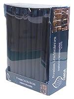 Confezione da 50pezzi, nero 25cm candele affusolate. Inodore, alta qualità, prodotte in Europa.
