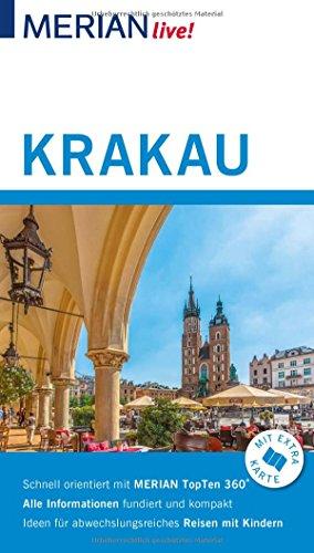 MERIAN live! Reiseführer Krakau: Mit Extra-Karte zum Herausnehmen