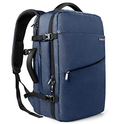 Inateck Laptop Rucksack für 15-15,6 Zoll Notebooks,Wasserabweisend Backpack mit Diebstahlsicherung für Reisen Business Wandern Camping