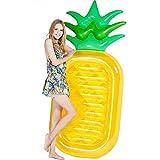 Tofree Riesige Ananas Pool-Party Schwimmgerät, aufblasbare Luftmatratze/Pool-Lounger Spielzeug für Erwachsene Kinder
