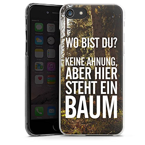 Apple iPhone X Silikon Hülle Case Schutzhülle Sprüche Humor Spruch Hard Case transparent