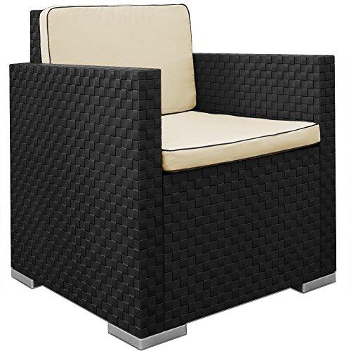 Lounge Set in Rattan-Optik Sitzgruppe Sitzgarnitur Gartengarnitur Gartenset - 4