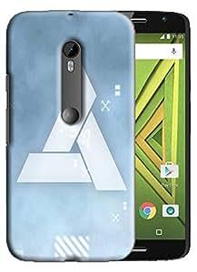 PrintFunny Designer Printed Case For MotorolaMotoXStyle
