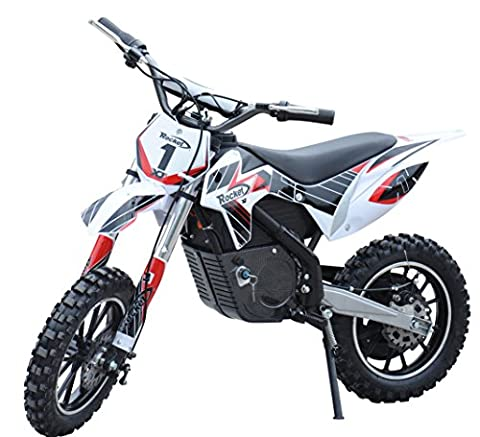 Rocket DB500 Electric Dirt Bike 36v Motorbike Ride on Lithium Batteries - 4 Colours (Red)
