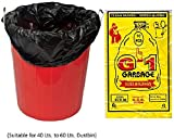 #9: G-1 Extra Large | 29 inch X 39 inch | 4 Packs of 10 Pcs - 40 Pcs | Disposable Garbage Trash Waste Dustbin Bags - Black