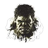 Citation d'autocollant mural 3D Hulk chambre décoration murale affiche PVC Art sticker mural