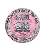 REUZEL Pomade Pink Grease Heavy Hold, 1er Pack (1 x 35 g)