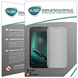 4 x Slabo Displayschutzfolie für Lenovo Moto G4 Play Displayfolie Schutzfolie Folie Zubehör