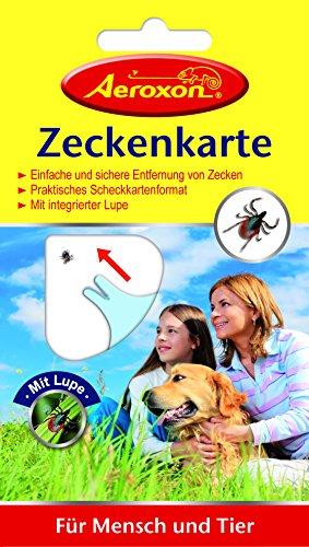 Aeroxon Insektenschutzmittel Zeckenkarte