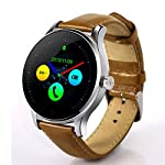 K88H Bluetooth Smart Watch MTK2502 Heart Rate Monitor Sync Phone Call Message Men Wom