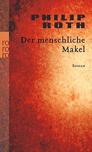 Buchseite und Rezensionen zu 'Der menschliche Makel' von Philip Roth