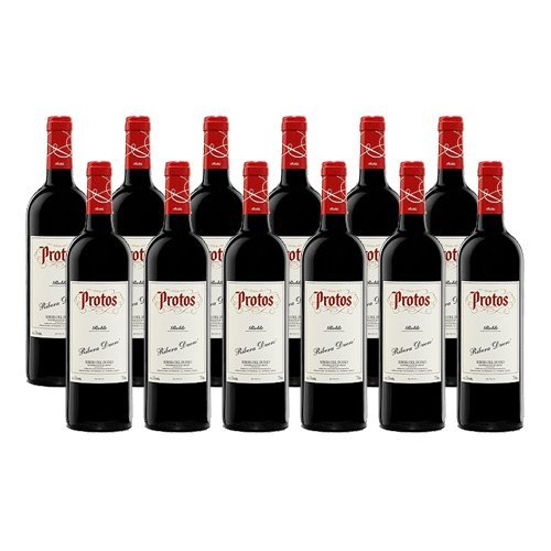 Protos Roble - Vino Tinto - 12 Botellas