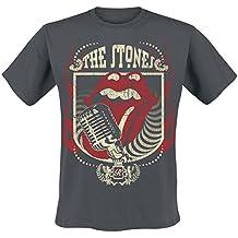The Rolling Stones 40 Licks Camiseta Gris marengo