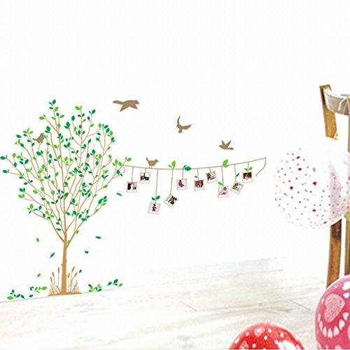 KAMAY 'S ® PVC Memorial Bäume und Fotos Decor Wand Aufkleber Art Aufkleber lm8001