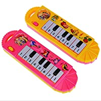 Clearance Musical Toys Safe for Kids Children, Turkey Baby Musical Instrument Toys Touch Play Keyboard Music Piano Toy Educational Development Lovely Funny Early Gift Toys for Toddler Nephew, Color Rondom