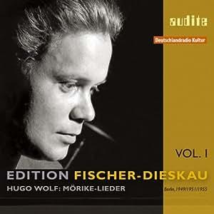Fischer-Dieskau : Vol. 1, Möricke-Lieder de Wolf.
