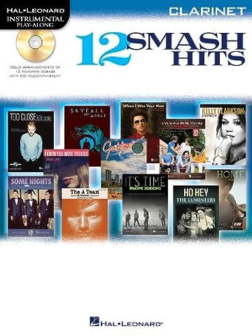 Hal Leonard Instrumental Play-Along: 12 Smash Hits (Clarinet)