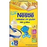 Nestlé Papillas - Cereales - A Partir de 4 Meses - 5 Paquetes de 600 g